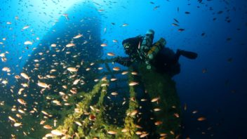 Immersione sul relitto della Amoco Milford Haven