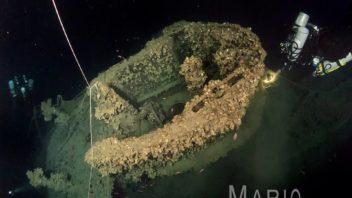 Dive on U-boot U-455 wreck